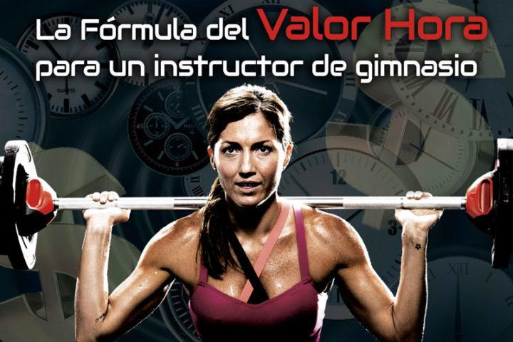 La fórmula del valor hora para un instructor de gimnasio