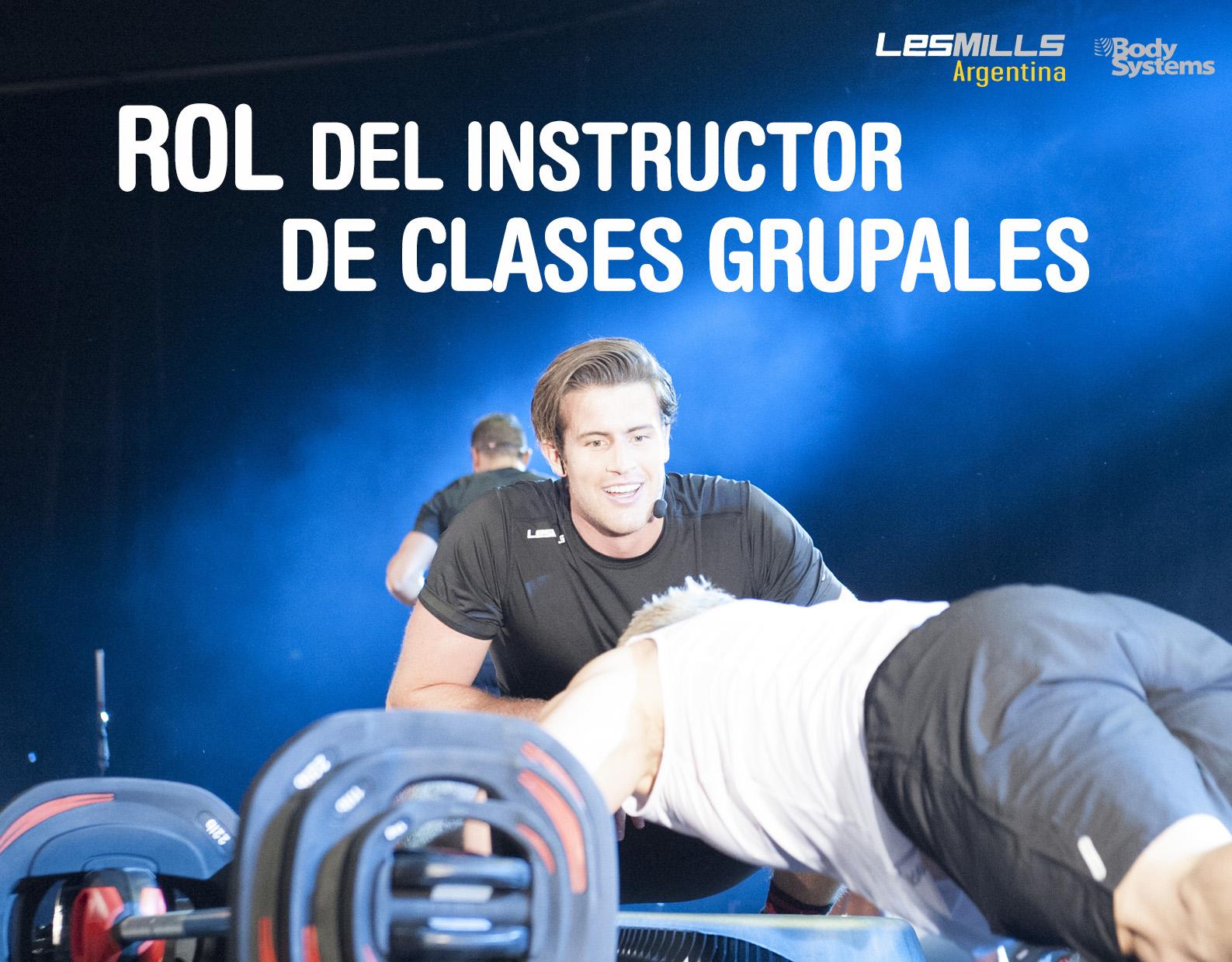 Rol del instructor de clases grupales